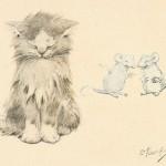 英語の名文、諺『猫がいない時、ねずみが遊ぶ』